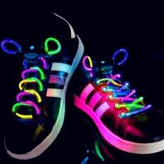 Gracekarin LED Olahraga Sepatu Tali Sepatu Blitz Ringan Cahaya Tongkat Tali Tali Sepatu-Internasional