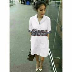 Spesifikasi Gracestore Tunik Sandra Batik Putih Terbaru