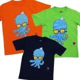 Harga Gran Exito Baju Kaos Oblong Tee Anak Octopus Navy Yang Bagus