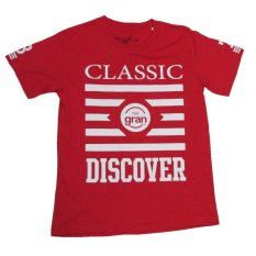 Gran Exito Baju Kaos Oblong Tee Dewasa Classic 78 Red Gran Exito Diskon 40