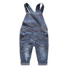 Diskon Besargrandwish Denim Jeans Baju Anak Celana Longgar 24 M 10 T Biru