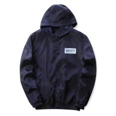 Spesifikasi Grandwish Mantel Jaket Bomber With Kerah And Motif Floral For Pria Ukuran M 3Xl Biru Tua Oem