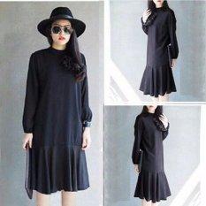 Grateful Dress Meisya - Hitam - Best Seller - Harga Grosir