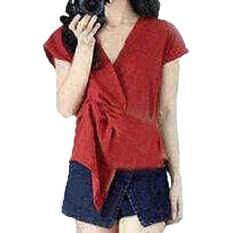 Grateful Fashion  Blouse Arai 3  - Merah - Best Seller
