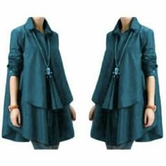 Grateful Fashion Blouse Hiraku 3- Dusty Pink - Best seller  - Sabyan