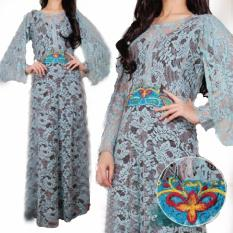Grateful Fashion  Kaftan Savana 3 - Blue  - TERLARIS