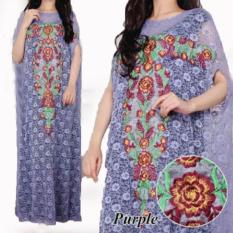 Grateful Fashion Kaftan Shilla 1 - Purple  - TERLARIS
