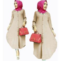 Jual Grateful Fashion Tunik Elsa 2 Mocca Best Seller Murah