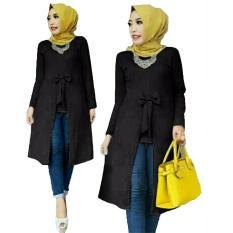 Harga Grateful Fashion Tunik Becca 1 Hitam Best Seller Paling Murah