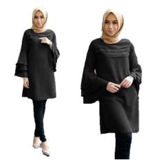 Grateful Fashion Tunik Katty -1 Black - Best Seller