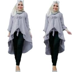 Beli Grateful Fashion Tunik Nadya 3 Abu Lengkap