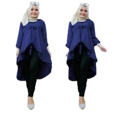 Grateful Fashion Tunik Nadya - 3  Navy