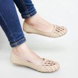 Diskon Besargratica Sepatu Flat Shoes 074Dd Cream