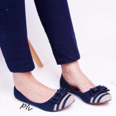 Harga Gratica Flat Shoes Aw26 Navy Gratica Terbaik