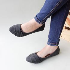 Jual Gratica Flat Shoes Aw42 Hitam Satu Set