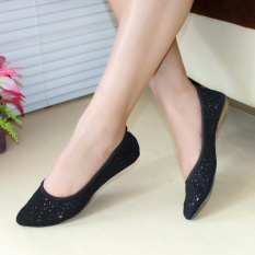 Toko Gratica Flatshoes Flat Shoes Am34 Hitam Indonesia