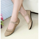 Obral Gratica Flatshoes Flat Shoes Aw 65 Cream Murah