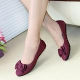Jual Beli Gratica Flatshoes Flat Shoes Ud34 Maroon Jawa Barat