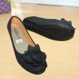 Promo Gratica Sepatu Flat Flatshoes Laser Black Nfz 63 Akhir Tahun