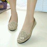 Harga Gratica Sepatu Flat Flatshoes Laser Cream Nfz 07Sr Yang Murah Dan Bagus