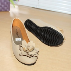Beli Gratica Sepatu Flat Flatshoes Laser Cream Nfz 63 Terbaru