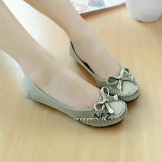 Jual Gratica Sepatu Flat Flatshoes Laser Gray Nfz 51 Murah Di Jawa Barat