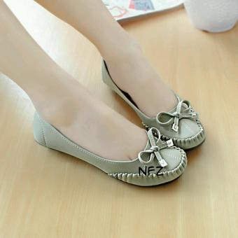 Beli sekarang Gratica Sepatu Flat Flatshoes Laser Gray NFZ-51 terbaik murah  - Hanya Rp54.659 14b20cbc99