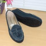 Gratica Sepatu Flat Flatshoes Laser Navy Nfz 09Is Terbaru