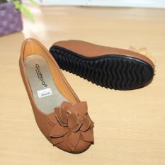 Beli Gratica Sepatu Flat Flatshoes Laser Tan Nfz 63 Kredit Jawa Barat