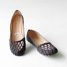 Jual Gratica Sepatu Flat Shoes 074Dd Hitam Online Jawa Barat