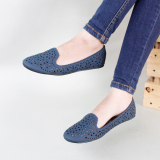Miliki Segera Gratica Sepatu Flat Shoes Al14 Navy