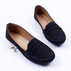 Gratica Sepatu Flat Shoes AL29 - Hitam