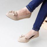 Spesifikasi Gratica Sepatu Flat Shoes Aw08 Cream Murah Berkualitas