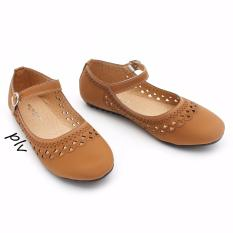 Penawaran Istimewa Gratica Sepatu Flat Shoes Aw65 Tan Terbaru