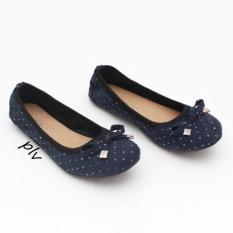 Penawaran Istimewa Gratica Sepatu Flat Shoes Bd09Bt Navy Terbaru