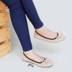 Review Gratica Sepatu Flat Shoes Bd09Pu Cream Jawa Barat
