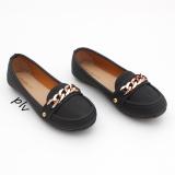 Katalog Gratica Sepatu Flat Shoes Ds12 Hitam Terbaru