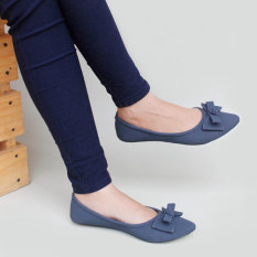 Gratica Sepatu Flat Shoes KH28 - Navy