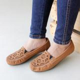 Beli Gratica Sepatu Flat Shoes Laser Ud23 Mocca Online Murah