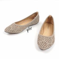 Jual Gratica Sepatu Flat Shoes Ma34 Abu Branded