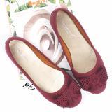 Spesifikasi Gratica Sepatu Flat Shoes Mi01 Maroon Yang Bagus