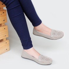 Beli Gratica Sepatu Flat Shoes Wanita Rj55 Abu Online