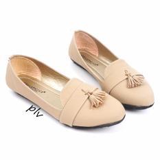 Jual Gratica Sepatu Flat Shoes Tassel Ud39 Cream Online