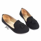 Jual Gratica Sepatu Flat Shoes Tassel Ud39 Hitam Online Jawa Barat
