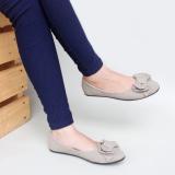 Harga Gratica Sepatu Flat Shoes Ud34 Abu Paling Murah
