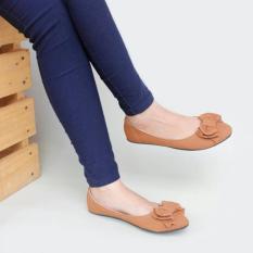 Spesifikasi Gratica Sepatu Flat Shoes Ud34 Tan Lengkap