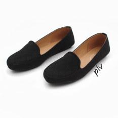 Gratica Sepatu Wanita Loafers Ub12 Hitam Di Jawa Barat