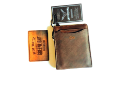 Review Toko Greenligh One Tone Embossed Bifold Brown Wallet Dompet Murah Berkualitas Keren Online