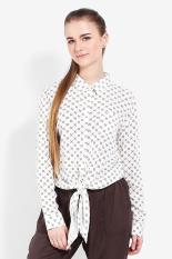 Greenlight Ladies Shirt White Diskon discount murah bazaar baju celana fashion brand branded