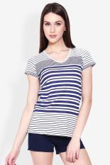 Greenlight Ladies Tshirt White Diskon discount murah bazaar baju celana fashion brand branded